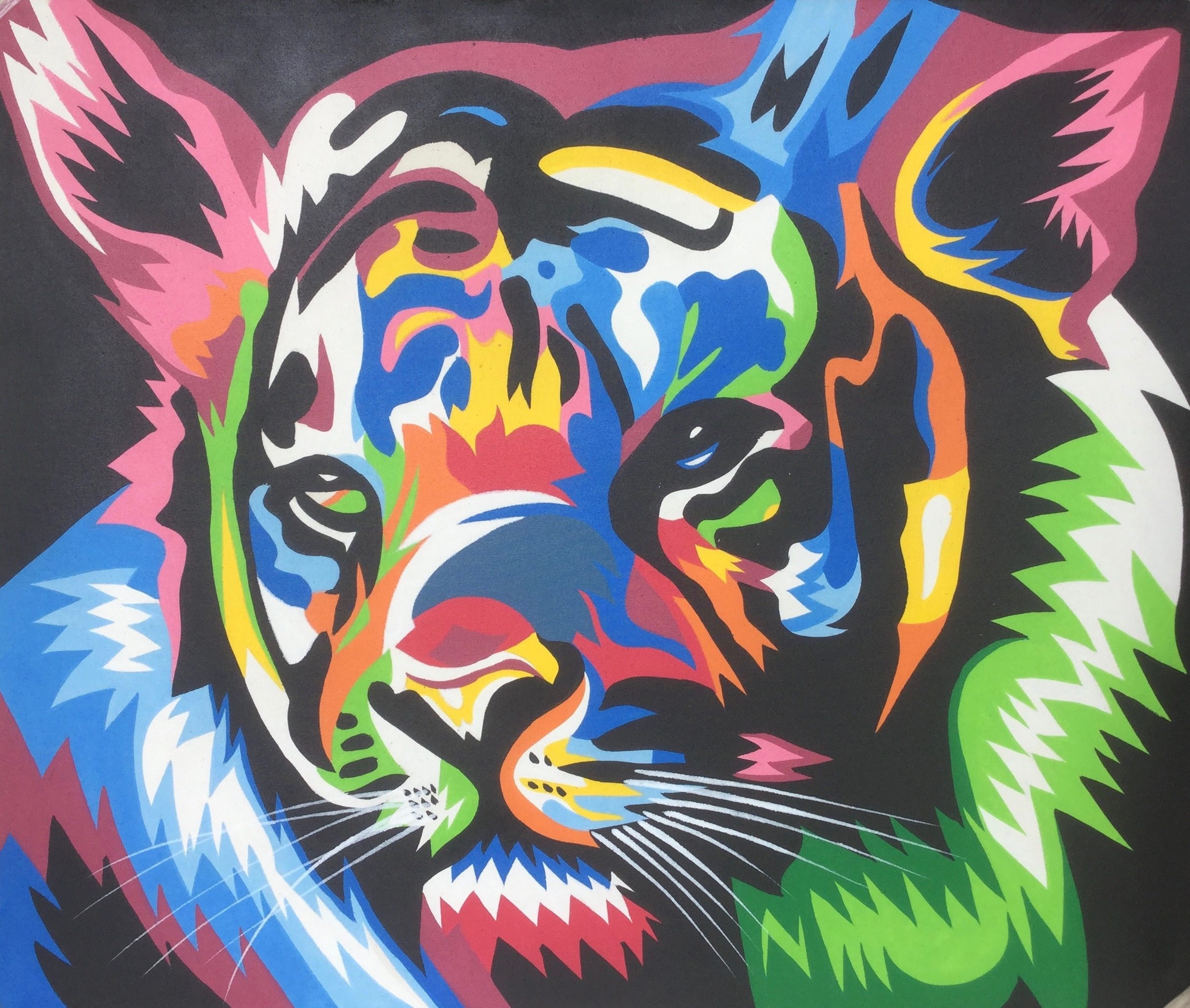 colorful animal painting 7090cap006 公式 goes windy dream