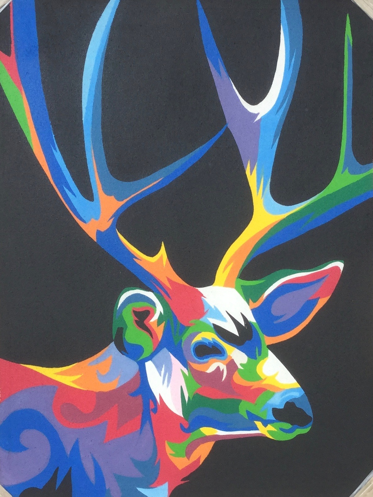 colorful animal painting 7090cap004 公式 goes windy dream