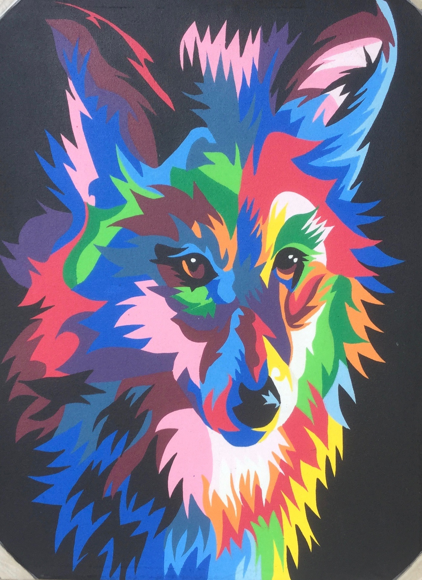 colorful animal painting 7090cap003 公式 goes windy dream